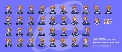 Inori Aizawa for Sonic Robo Blast 2 Kart by SpacemanStrife