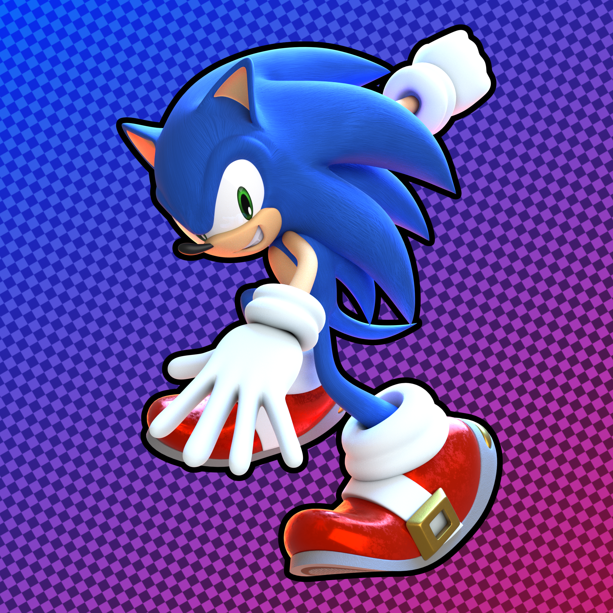 Commission Sonic The Hedgehog Adventure Style By Glitchedlizardda On Deviantart