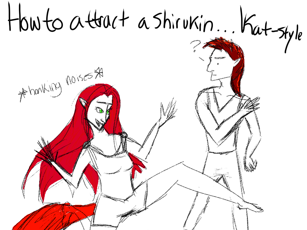 How to Attract a  Shirukin: A Guide by Kathleen N. by Dragonair13