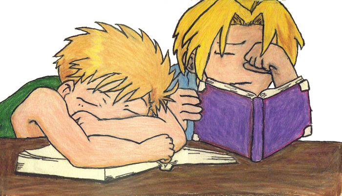 Sleeping Alchemists