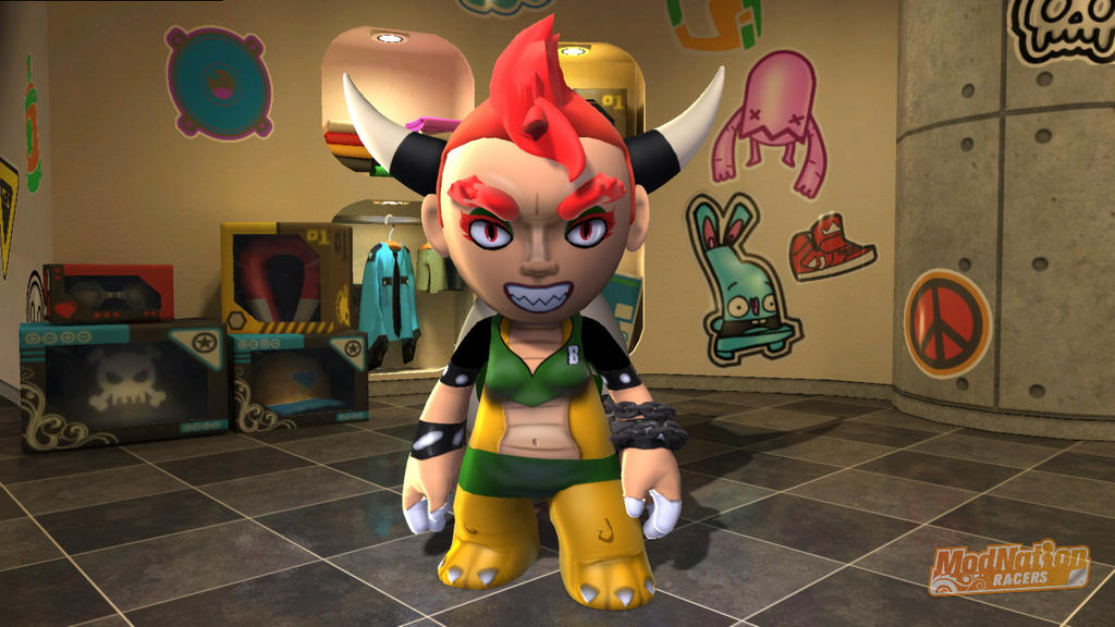 ModNation Racers Bowsetta by Blucaracal