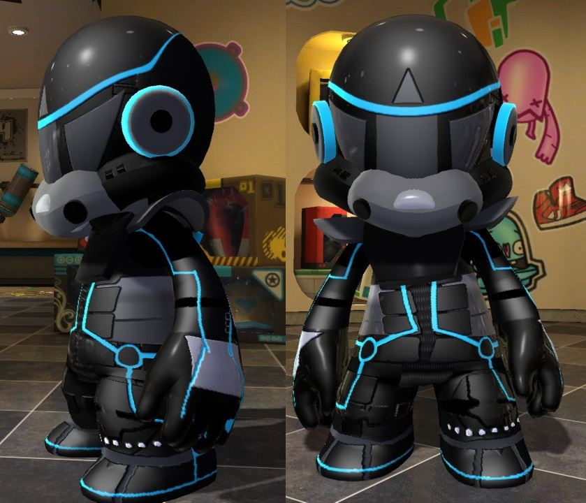ModNation Racers TronTrooper by Blucaracal