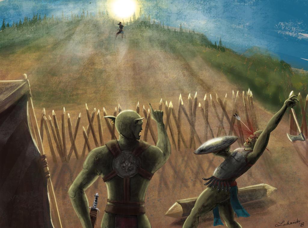 Revenge at Dawn by Lathminster