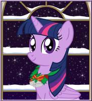 Winter Portrait - Twilight Sparkle by LifesHarbinger