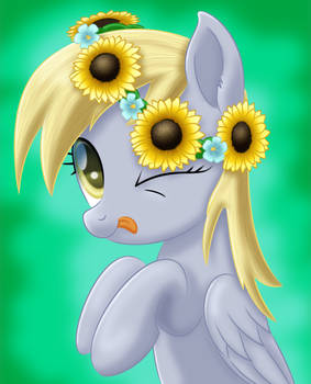 Spring Time Derpy by LifesHarbinger