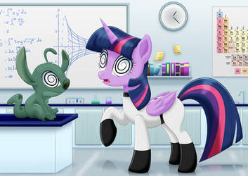 Twilight Labs: Subject - 5W1RL3Y by LifesHarbinger
