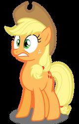 Applejack - Eeep! by Bronyvectors