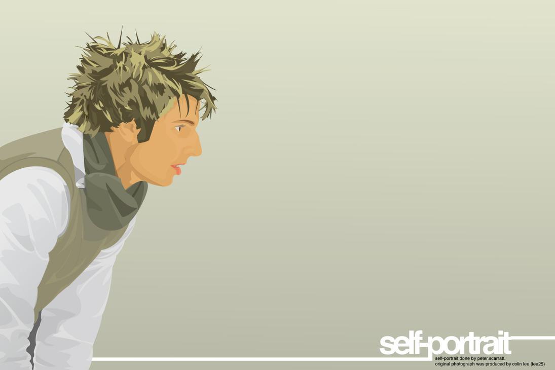 self.portrait. by Scazza