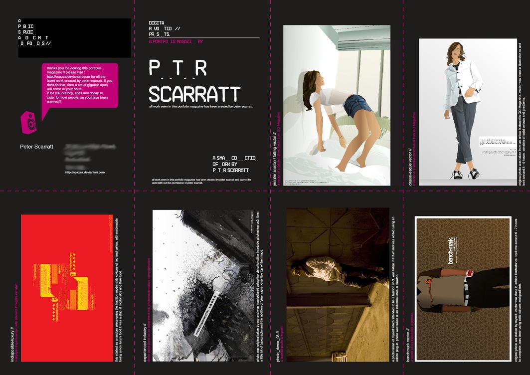 magazine.portfolio. by Scazza