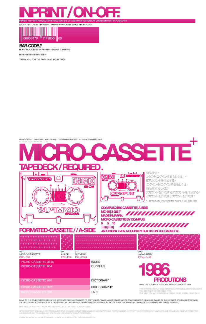 micro.cassette. by Scazza