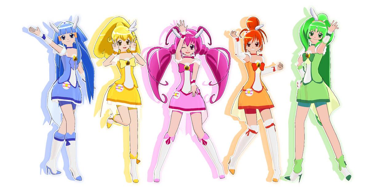 [MMD] Smile Pretty Cure Download