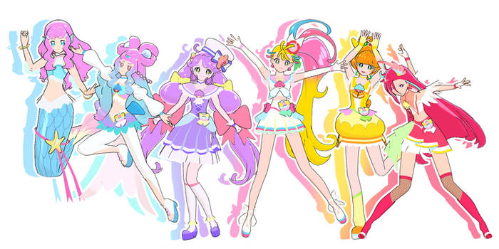 [MMD] Tropical Rouge PreCure Download