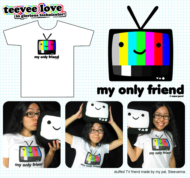 teevee colorbars product pic by ilovegravy