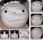 cute knitted fellow
