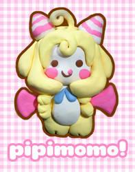 pipimomo clay figure by ilovegravy