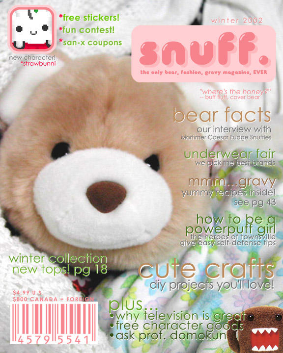 snuff magazine by ilovegravy