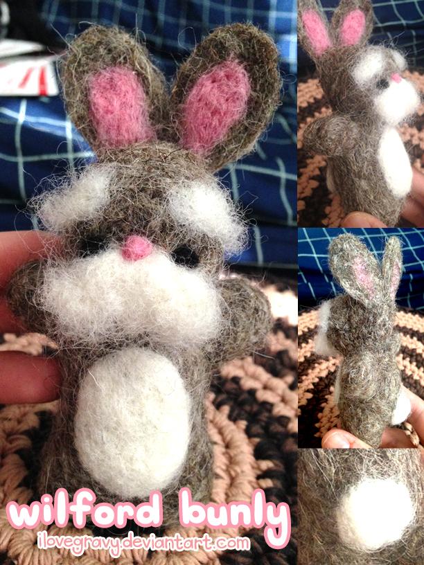 Wilford Bunly the Stabbing Bunny by ilovegravy