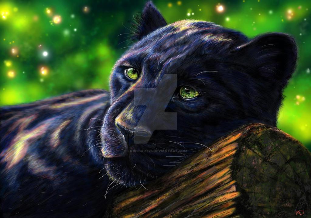Black Panther By Portela On Deviantart: Black Panther By Loveisart26 On DeviantArt