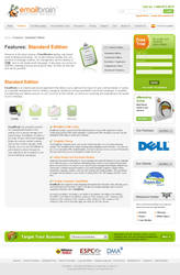 Web site Green and White by rgdesign-uruguay