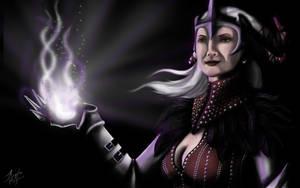 Flemeth  - Dragon Age II by abplafcan