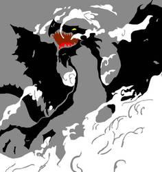 Shadow of a Dragon by raichmann