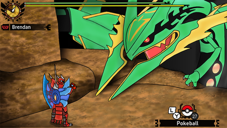Pocket Monster Hunter G-Rank by raichmann