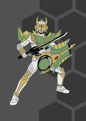 Request - Tribal Kamen Rider  Zangetsu by raichmann