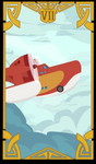 DuckTales Tarot VII - The Sunchaser Chariot by raichmann