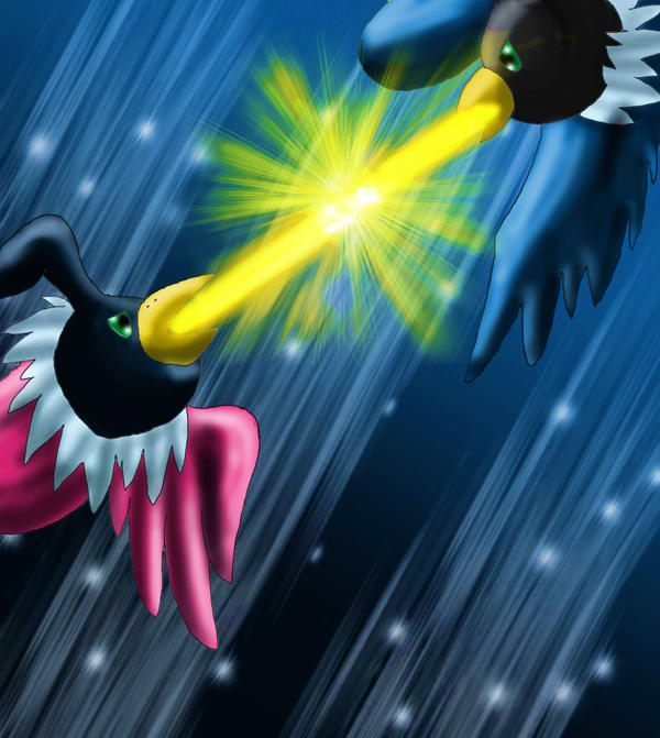 phatmon's fan art Chatot_Hyperbeam_by_fatmon66