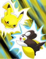 Electric Battle by Phatmon