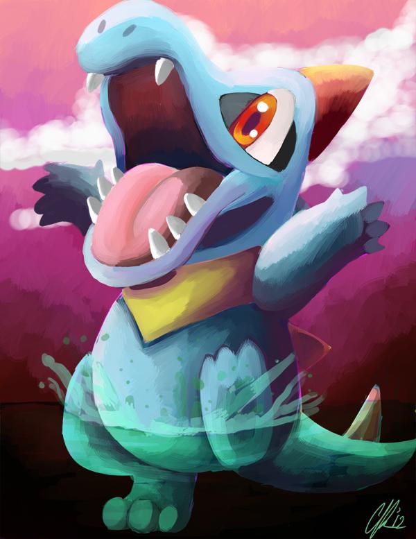 Pokemon totodile Buizel
