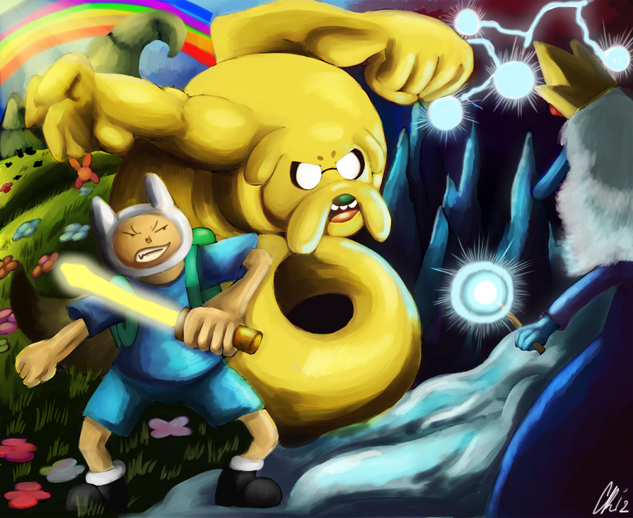 Adventure time Peace Vs Chaos by Phatmon
