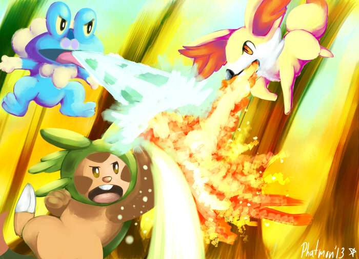 Welcome to Pokemon X and Y by Phatmon