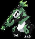 A panda of Awesome Kaokung