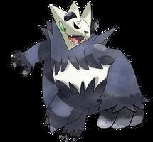Pokemon Pangoro