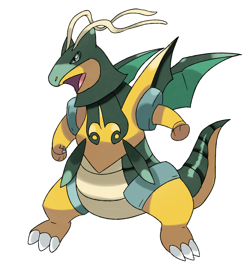 Concept - Mega Dragonite Y by sunei-pokemon on DeviantArt