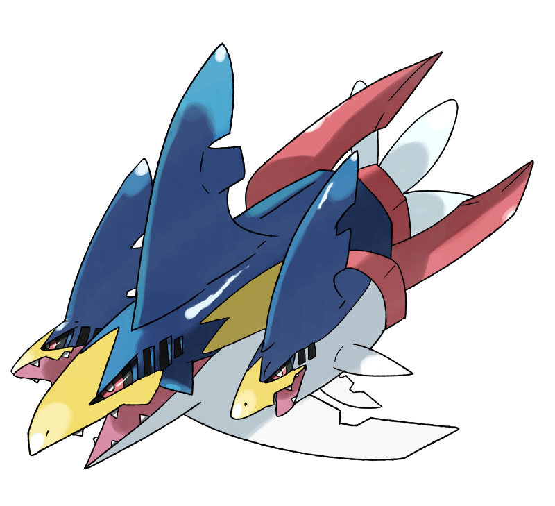 Lugia Mega Evolution Mega Sharpedo by Phatmon66