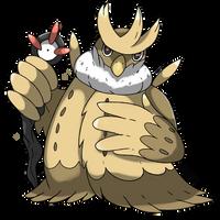 Mega Noctowl UPDATED by Phatmon