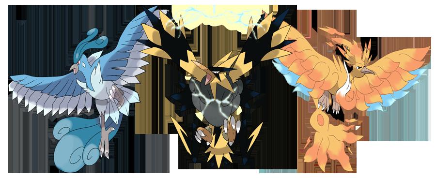 Mega Articuno Mega Zapdos And Mega Moltres By Phatmon On Deviantart