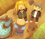 Wisdom-Persona 4 Pokemon by Phatmon