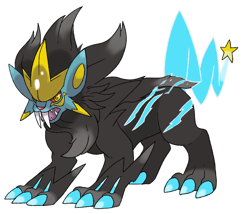 Mega Luxray by Phatmon on DeviantArt