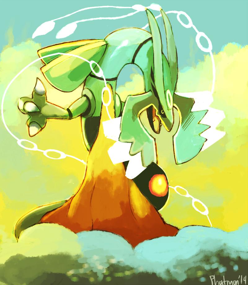 Mega Rayquaza by Phatmon66