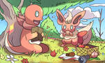 Commission PMD pokemon picnic