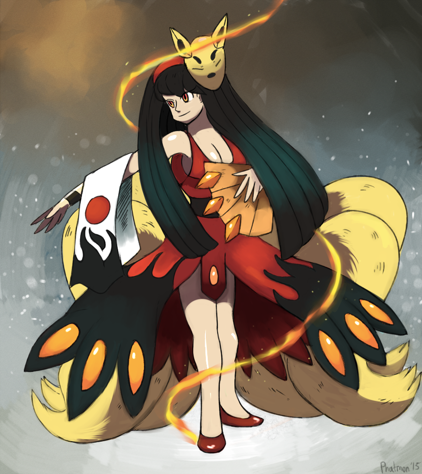 The Great Mistress Yukiko Amagi by Phatmon66