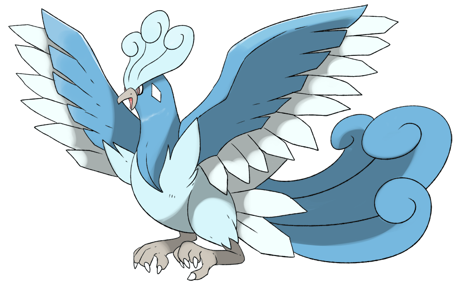 Mega Legendary Birds Mega Articuno by Phatm...