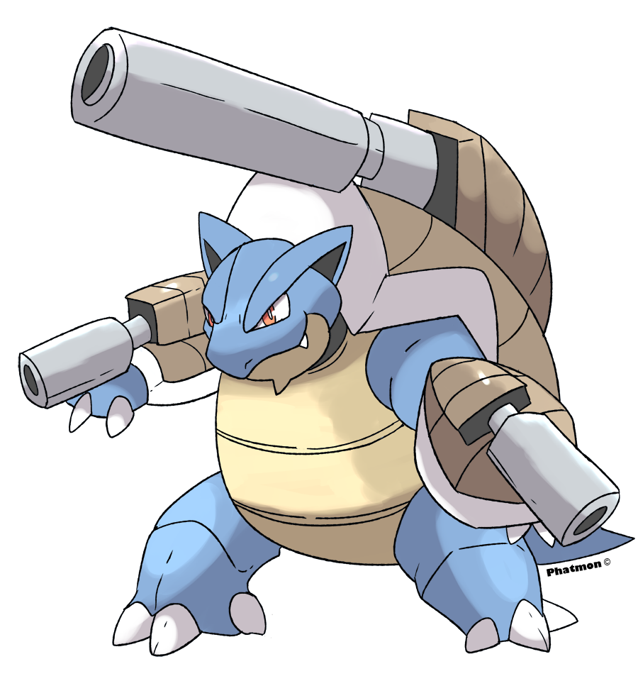 Mega Blastoise by Phatmon on DeviantArt