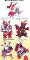 Pokemon Subspecies Zangoose