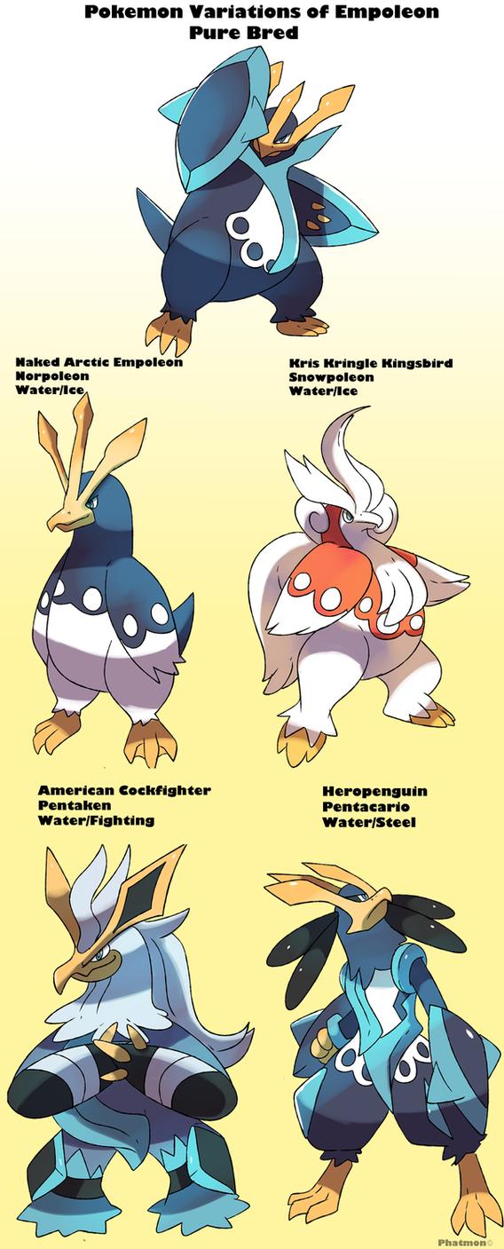 Pokemon Subspecies Empoleon by Phatmon66