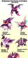Pokemon Subspecies Crobat