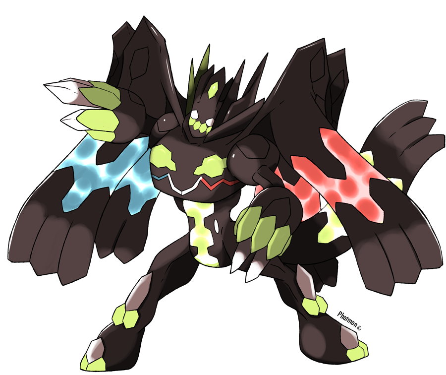 Zygarde's Perfect Forme by Phatmon on DeviantArt